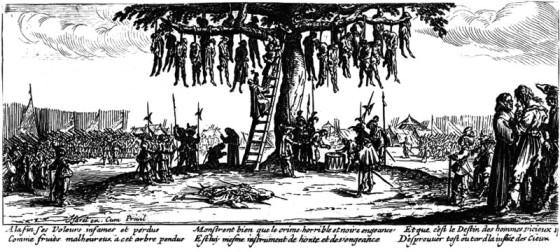 L'arbre aux pendus - Jacques Callot