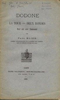 Dodone - Paul Blier