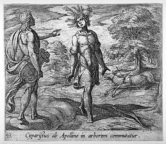 Mtamorphoses d'Ovide : Cyparissus