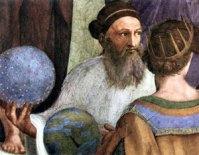 Zarathoustra - Détail de l'Ecole d'Athène par Raffaello Sanzio (1509)