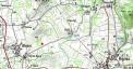 Localisation chêne de Blanat - clic pour agrandir