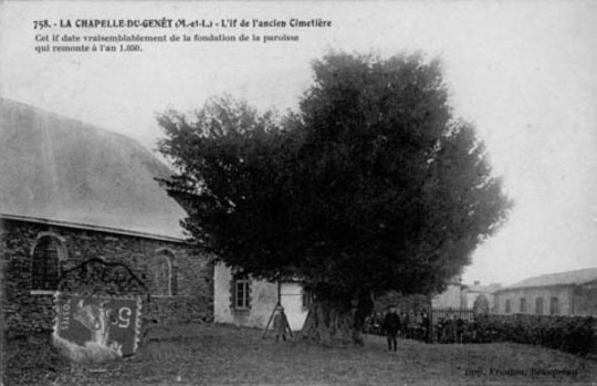 La Chapelle du Genet carte postale ancienne