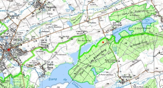 Localisation Ormes du Romersberg - clic pour agrandir