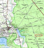 Chêne Stebbing localisation - clic pour agrandir
