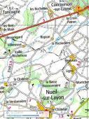 Carte générale - Nueil-sur-Layon
