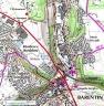Localisation chêne de l'Atreaumont - clic pour agrandir