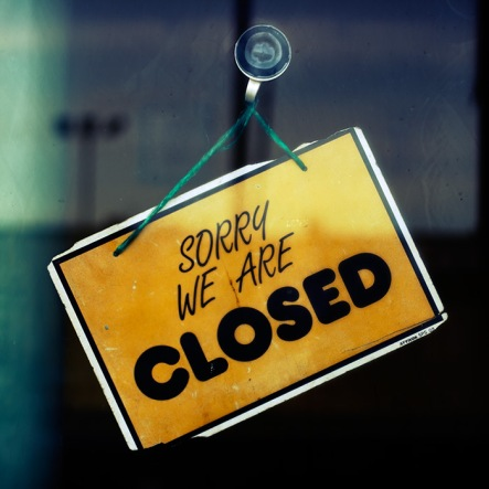 Sorry we are closed © David J. Nightingale, 2003