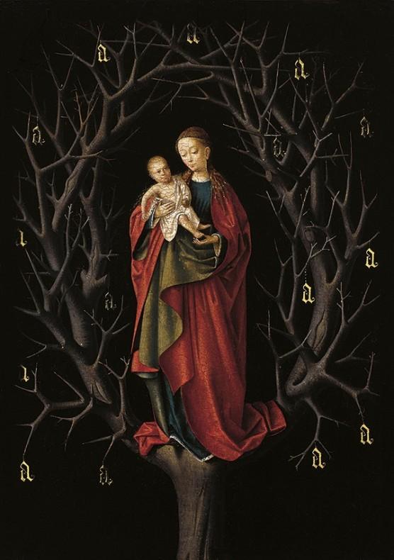 Virgin of the Dry Tree - Petrus Christus