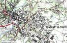 Localisation glycine Fontenay-le-Comte - clic pour agrandir