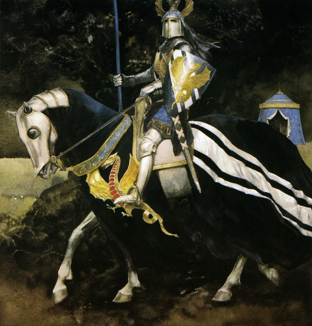 alan lee_the mabinogion_peredur - son of efrawg_03