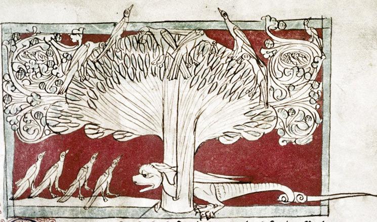 Bodleian Library, MS. Douce 88, Folio 22r