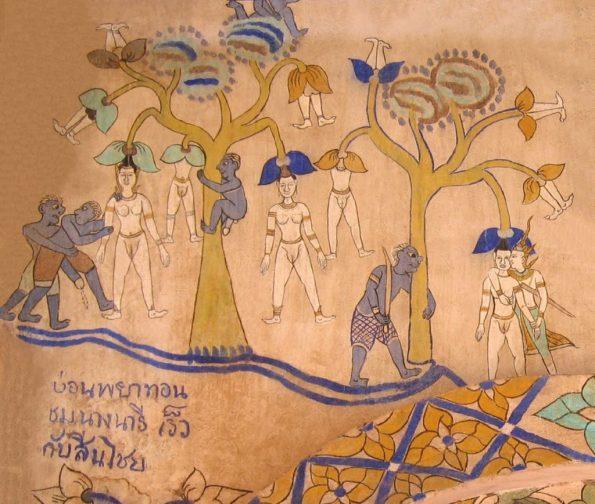 Nariphon - Wat Sanuan Wari murals