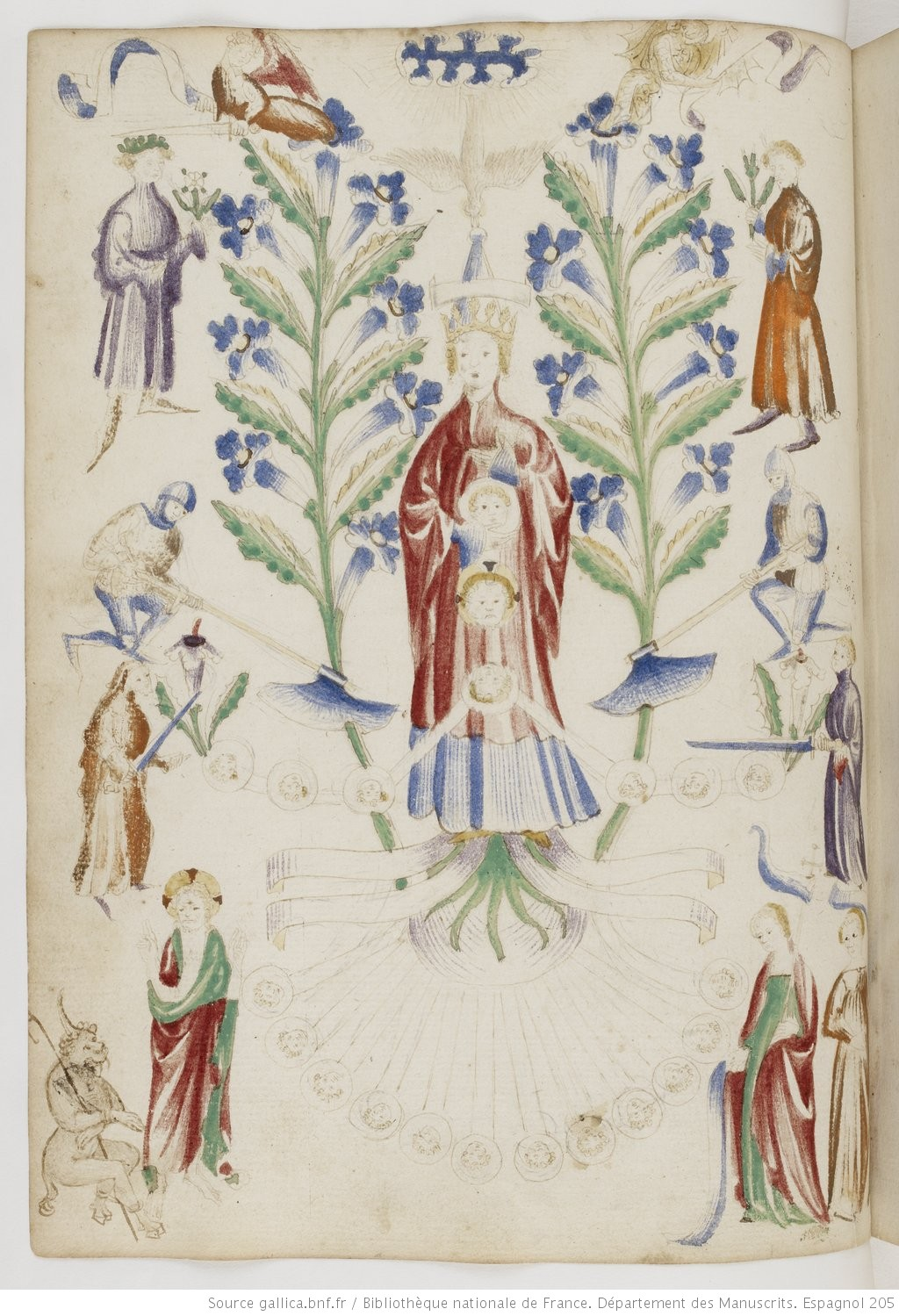 Matfre_Ermengaud_Breviari_d'Amor_folio 7bis v